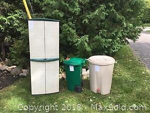 Outdoor Plastic Lot of 3