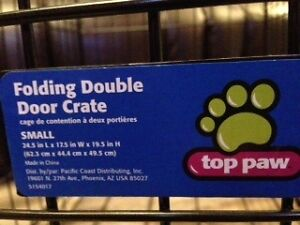 Adjustable dog crate