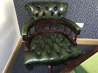Chesterfield Desk & Chair
