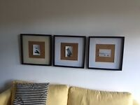 3 Ribba Wall Frames from IKEA