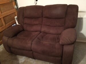 Reduced price on Reclining Loveseat