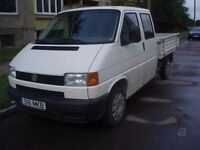 vw Transporter T4 T5 doka / double cab drop side pickup wanted