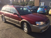 Subaru Outback Immaculate, Collectors Bargain, Low Mileage, 2 keys, 2 prior owners, servicing