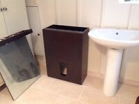 Large Bathroom basin and pedestal - plus furniture if you wish