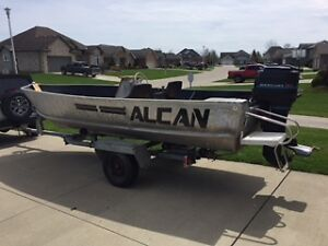 18' 50hp fishing boat Springbok by Alcan