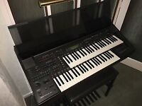 Yamaha Electone Organ and stool