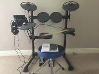 Yamaha DTX400K Electronic Drum Kit - as new.