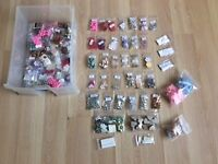 Large selection of card-making embellishments, worth over £60.