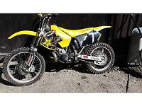 Rm250 Motocross bike 2000 millennium