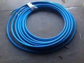 25mm MDPE Water Pipe Blue