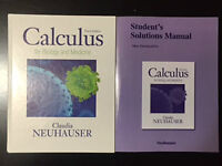 Calculus for Biology and Medicine by Claudia Neuhauser.
