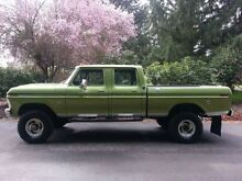 1974 - 1979 Ford F100, f150, f250, f350  4 door cab Old Beach Brighton Area Preview