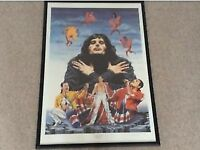 Queen Freddie Mercury Trevor Horswell Signed and Numbered Framed Print