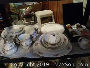 Collection of Thun China Dishes And More A