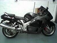 SUZUKI HAYABUSA MOTORCYCLE, 1300 GSXR, 1999, UNRESTRICTED, BRISTOL