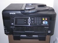 REDUCED TO £25:Epson Workforce Print:Copy:Scan-Only 1 year old