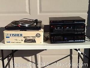 Vintage Fisher Stereo Components