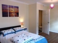 Good sized double room with ensuite