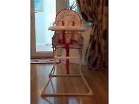 childs highchair