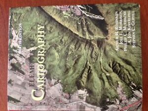 Elements of Cartography,6th edition West Island Greater Montréal image 1