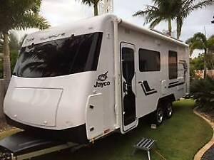 A Jayco Silverline Touring Caravan