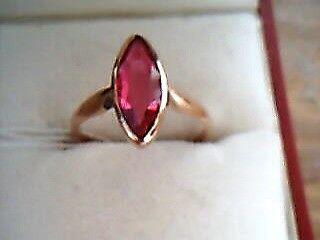 Delfina delettrez 'lips' ruby earring gold women jewellery