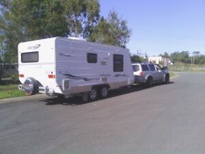 Caravan sale alone or with Nissan bargain price new condition Bundall Gold Coast City Preview