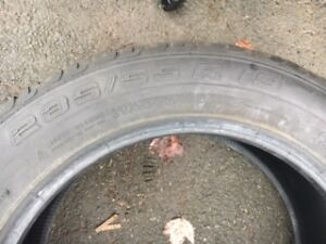 235/55/19 CONTINENTAL Cross Contact tires - $350.00