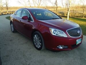 2012 Buick Verano Sedan LOW LOW KMS!!!!  Loaded with options