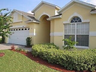 Florida Villa south facing with private pool and games room, close to Disney.Sleeps 8