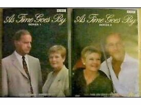 AS TIME GOES BY SERIES 1 & 2 ON DVD