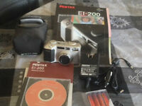 Pentax Digital Camera with all Accessories