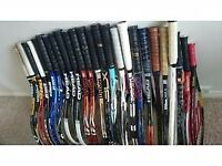 Tennis rackets,shoes,balls,equipment etc....