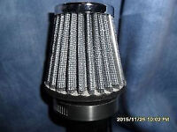 air filter k/n chrome sports air filter 54/55 mm 2/1/2 inch as new never used