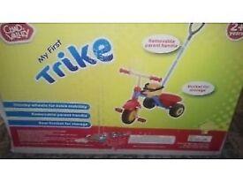 Kids trike with additional trike.