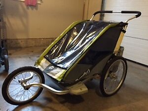 """Twin Jogger Thule (Chariot) X-Country Series """"Cougar"""""""