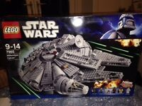 LEGO: Millennium Falcon 7965: loved and used. Complete with instructions, box and all figures.