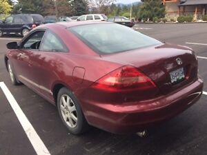 2005 Honda Accord EX V6 Coupe (2 door)