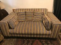 Beautiful 2 Seater - Sofa / Settee / Couch. Good condition, Collection only, Jericho