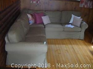 IKEA Sofa With Trundle Bed C