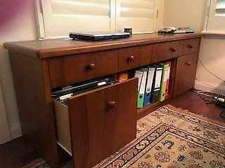 Office Credenza Perth : Modern cabinet credenza home office use cabinets gumtree