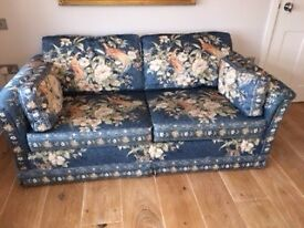 Beautiful compact 2 seater sofa bed
