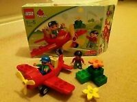 Lego Duplo Red Aeroplane