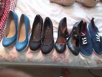 Ladies shoes bundle size 6 &7