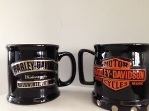 Harley Davidson Coffee Mugs (2)