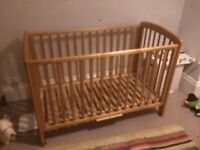 John Lewis Anna cot in good condition