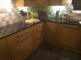 Huge KITCHEN - UNITS, LIGHTS & OVEN, Excellent Condition. Near HULL, EAST YORKSHIRE
