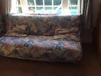 2 Slumberland Sofa Beds 6ft X 4ft Hardly Used Same Pattern Diffe Colours