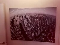 US Skyline black and white picture excellent condition