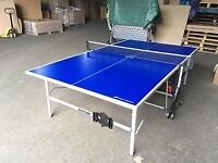 Blue Kettler Stockholm GT Outdoor Table Tennis Table (good condition, assembled)